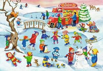 05057 Kinderpuzzle Freizeit am See von Ravensburger 2