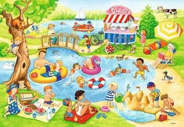 05057 Kinderpuzzle Freizeit am See von Ravensburger 3