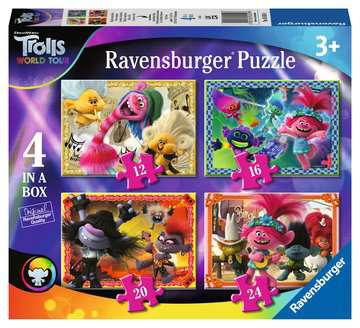 Trolls 2 Puzzles;Puzzle Infantiles - imagen 1 - Ravensburger