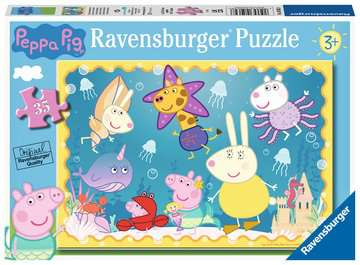 Peppa Pig Underwater Adventure, 35pc Puzzles;Children s Puzzles - image 1 - Ravensburger