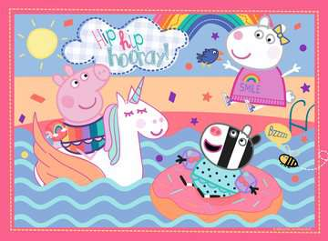 Peppa Pig Unicorn Fun, My First Floor Puzzle, 16pc Puzzles;Children s Puzzles - image 2 - Ravensburger