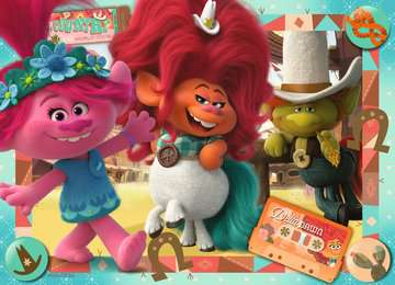 Trolls 2:La musica ci unisce Puzzle 4x100 Bumper Pack Puzzle;Puzzle per Bambini - immagine 5 - Ravensburger