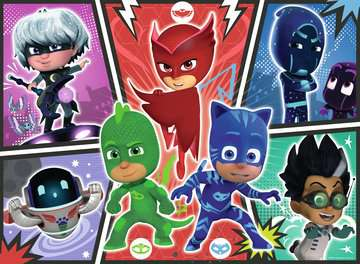 PJ Masks 60pc Glow in the Dark Puzzle Puzzles;Children s Puzzles - image 2 - Ravensburger