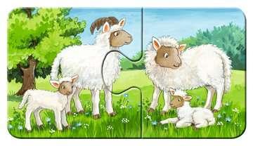 Familles d animaux à la ferme Puzzle;Puzzles enfants - Image 5 - Ravensburger