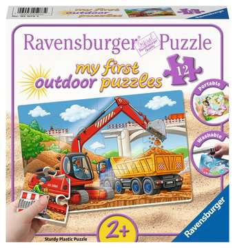 05073 Kinderpuzzle Meine Baustelle von Ravensburger 1
