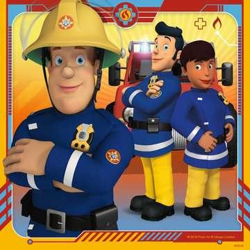 Puzzles 3x49 p - Notre héros Sam le pompier Puzzle;Puzzle enfant - Image 3 - Ravensburger