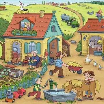 05078 Kinderpuzzle Viel los auf dem Bauernhof von Ravensburger 2