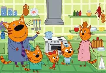 At home with Kid-e-Cats   2x24p Puslespil;Puslespil for børn - Billede 2 - Ravensburger