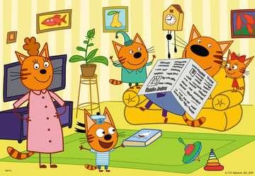 At home with Kid-e-Cats   2x24p Puslespil;Puslespil for børn - Billede 3 - Ravensburger