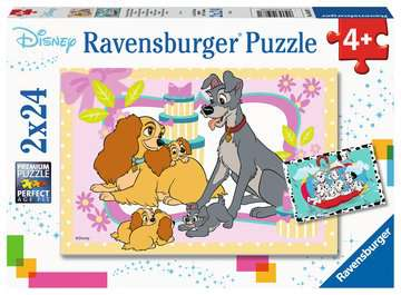 05087 Kinderpuzzle Disneys liebste Welpen von Ravensburger 1