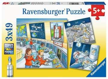 05088 Kinderpuzzle Auf Weltraummission mit Tom und Mia von Ravensburger 1