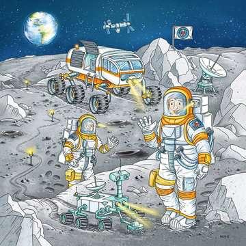 05088 Kinderpuzzle Auf Weltraummission mit Tom und Mia von Ravensburger 4