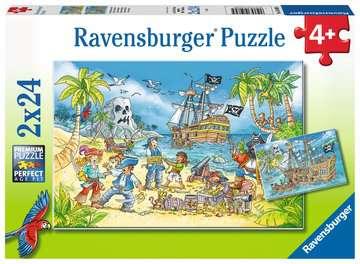 Adventure Island Puslespil;Puslespil for børn - Billede 1 - Ravensburger