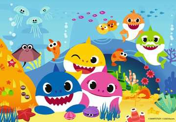 Der kleine Baby Hai       2x12p Puslespil;Puslespil for børn - Billede 3 - Ravensburger