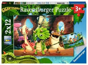 De kleine dino-bende Puzzels;Puzzels voor kinderen - image 1 - Ravensburger