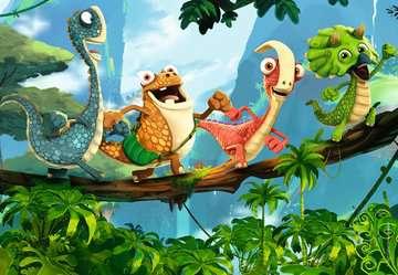 De kleine dino-bende Puzzels;Puzzels voor kinderen - image 2 - Ravensburger