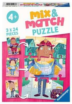 Mix and Match Professions Puslespil;Puslespil for børn - Billede 1 - Ravensburger
