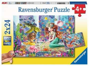 Betoverende zeemeerminnen Puzzels;Puzzels voor kinderen - image 1 - Ravensburger