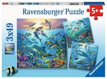 Dieren in de oceaan Puzzels;Puzzels voor kinderen - image 1 - Ravensburger