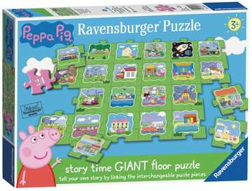 Peppa Pig Tell a Story Floor Puzzle, 24pc Puzzles;Children s Puzzles - image 1 - Ravensburger