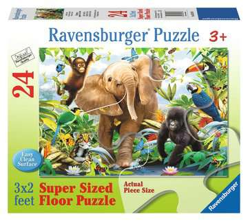 Jungle Juniors Jigsaw Puzzles;Children s Puzzles - image 1 - Ravensburger