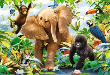 Jungle Juniors Jigsaw Puzzles;Children s Puzzles - image 2 - Ravensburger