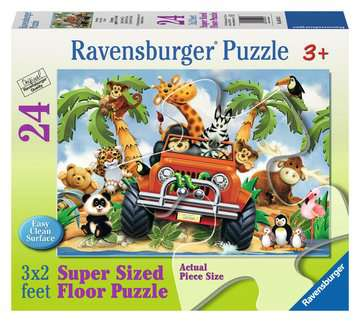 4 Wheeling Jigsaw Puzzles;Children s Puzzles - image 1 - Ravensburger