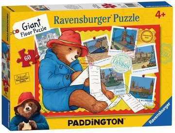 Paddington Bear Giant Floor Puzzle, 60pc Puzzles;Children s Puzzles - image 1 - Ravensburger