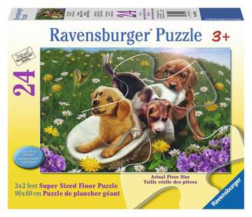 Frolicking Puppies Jigsaw Puzzles;Children s Puzzles - image 1 - Ravensburger