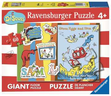 Green Eggs & Ham Jigsaw Puzzles;Children s Puzzles - image 1 - Ravensburger