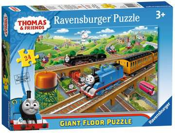 Thomas Giant Floor Puzzle, 24pc Puzzles;Children s Puzzles - image 1 - Ravensburger