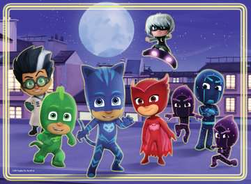 PJ Masks Glow in the Dark Puzzle, 60pc Puzzles;Children s Puzzles - image 2 - Ravensburger