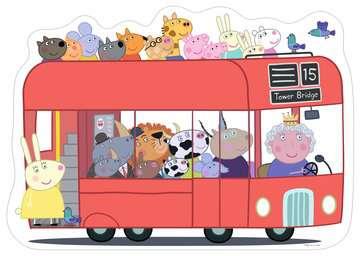 London Bus Shaped Giant Floor Puzzle, 24pc Puzzles;Children s Puzzles - image 2 - Ravensburger