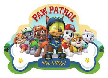 Paw Patrol Shaped Floor Puzzle, 24pc Puzzles;Children s Puzzles - image 2 - Ravensburger