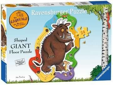 The Gruffalo Shaped Floor Puzzle, 24pc Puzzles;Children s Puzzles - image 1 - Ravensburger