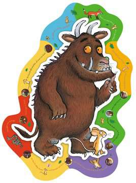 The Gruffalo Shaped Floor Puzzle, 24pc Puzzles;Children s Puzzles - image 2 - Ravensburger