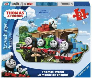 Thomas s World Jigsaw Puzzles;Children s Puzzles - image 1 - Ravensburger