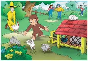 Curious George Fun Jigsaw Puzzles;Children s Puzzles - image 2 - Ravensburger