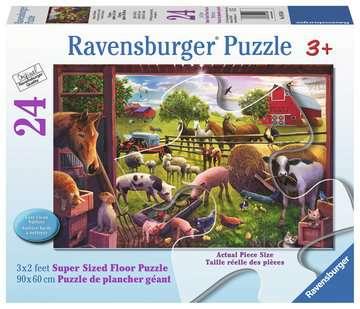 Les animaux de la ferme Bell Puzzles;Puzzles pour enfants - Image 1 - Ravensburger