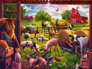 Les animaux de la ferme Bell Puzzles;Puzzles pour enfants - Image 2 - Ravensburger