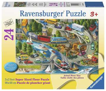 Vacation Hustle Jigsaw Puzzles;Children s Puzzles - image 1 - Ravensburger