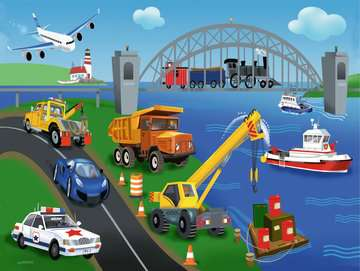 A Day on the Job Jigsaw Puzzles;Children s Puzzles - image 2 - Ravensburger