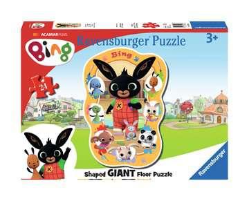 Bing Shaped Floor Puzzle Puzzles;Children s Puzzles - image 1 - Ravensburger