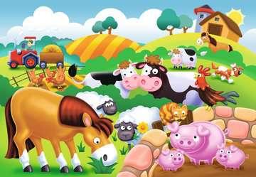 My first outdoor puzzle - Adorables animaux de la ferme Puzzle;Puzzle enfant - Image 2 - Ravensburger