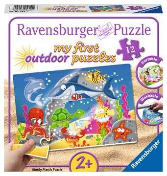 My first outdoor puzzle - Amusant monde sous-marin Puzzle;Puzzle enfant - Image 1 - Ravensburger