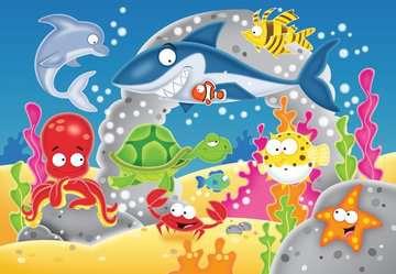 My first outdoor puzzle - Amusant monde sous-marin Puzzle;Puzzle enfant - Image 2 - Ravensburger