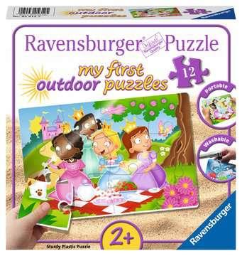 My first outdoor puzzle - Princesses amies Puzzle;Puzzle enfant - Image 1 - Ravensburger