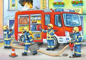 De brandweer komt te hulp Puzzels;Puzzels voor kinderen - image 2 - Ravensburger