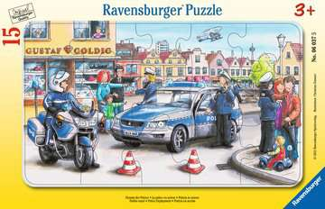 06037 Kinderpuzzle Einsatz der Polizei von Ravensburger 1