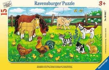 Farm Animals in the Meadow Jigsaw Puzzles;Children s Puzzles - image 1 - Ravensburger